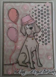 Hi there I am totally in love with these stamps by Stampers Anonymous . I am not a dog lover usually but each of these dogs have quirky ...