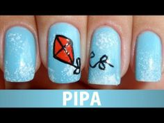 ▶ Unhas Decoradas - Pipa - YouTube