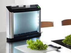 Self-Sanitizing Cutting Board System //Uses 254 nanometer light wave to destroy DNA and cell membranes of all microorganisms