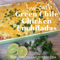 Low Carb Green Chile