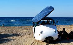 Το ελληνικό υβριδικό όχημα Sunnyclist παρουσιάζεται στην Κρήτη