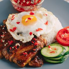 Marion's Kitchen is packed with simple and delicious Asian recipes and food ideas. Vietnamese Pork Chops, Vietnamese Grilled Pork, Vietnamese Recipes, Asian Recipes, Vietnamese Food, Asian Foods, Korean Food, Braised Pork Chops, Grilled Pork Chops