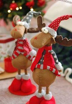 Christmas Hearts, Office Christmas, Christmas Mom, Christmas Sewing, Christmas Projects, Christmas Ornaments, Handmade Angels, Handmade Toys, Handmade Christmas Decorations
