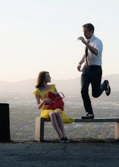 'La La Land' (2016) by Damien Chazelle. Undeniably uplifting and technically sublime. Emma Stone and Ryan Gosling are a joy to watch in this musical, poignant and lively soon-to-be-Oscar winner. A An energetic but often somber look into traditional jazz romanticism and the impact that chasing career aspirations can have on love. See with someone special.