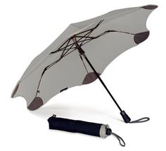 Metro XS Silver Umbrella - Gifts for Her | Ladies Bags & Scarves - BLUNT