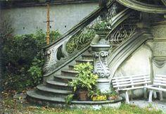 Torino #architetturaliberty · Pietro Fenoglio, villino Scott. nel film profondo rosso di Dario Argento #staircase