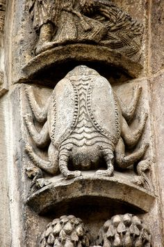 Cancer the crab the Portal Chartes Cathedral... been there too!