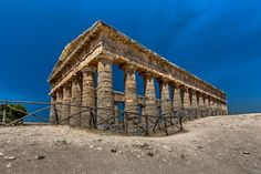 The Doric Temple of Segesta Sicily by Europe Trotter #xemtvhay
