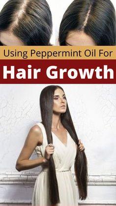 Peppermint Oil Hair Growth, Beauty Tips, Beauty Hacks, Essential Oils For Hair, Hair Growth Oil, Hair Oil, Home Remedies, Study, Studio