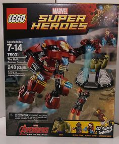 Lego 76031 Marvel Super Heroes The Hulk Buster Smash Avengers - EXCLUSIVE DEAL! BUY NOW ONLY $43.5