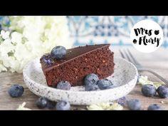 Gesunder Schokokuchen vegan, ohne Zucker | Mrs Flury - gesund essen & leben