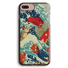 The Great Wave off Kanto Shiny Version Apple iPhone 7 Plus Case Cover ISVG830