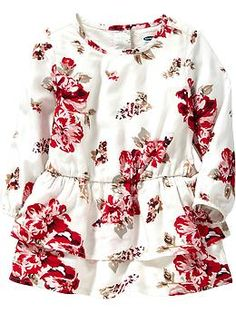 Tiered-Skirt Floral Dresses for Baby | Old Navy