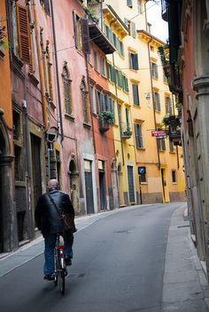 Verona, Italy color