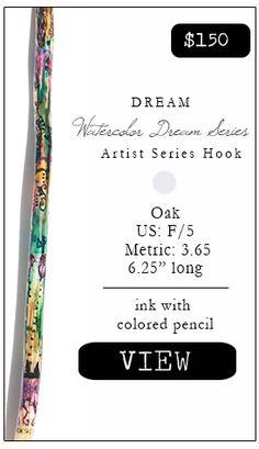 Dream, crochet hook F-5