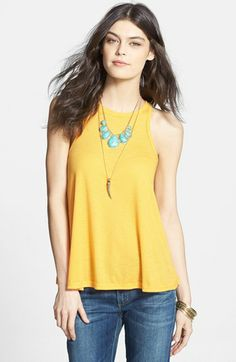 Free People 'Long Beach' Tank | Nordstrom $20