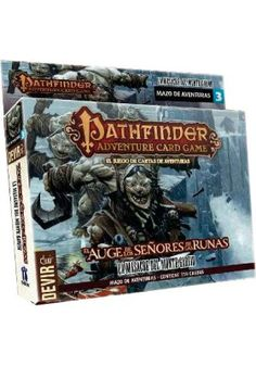 Pathfinder JCA: Auge de los Señores de las Runas - Mazo de Aventuras 3: La Masacre de Monte Garfio. 11,95€