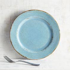 Hacienda De Vida Salad Plate - Turquoise