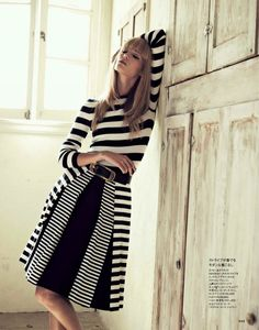 busade:  via Fashion  Style / michael kors: theres alexandersson  by takaki kumada for elle japan may 2013