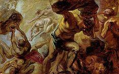 HD wallpaper: Greek mythology, artwork, painting, Peter Paul Rubens, Overthrow of the Titans Titans Greek Mythology, Greek Titans, Roman Mythology, Greece Mythology, Peter Paul Rubens, Fall Of Titan, Creation Myth, Greek Art, Hades