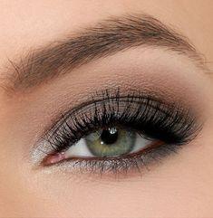nice Красивый вечерний макияж для серых глаз (50 фото) — Пошаговое выполнение