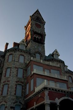 The mental hospital in my hometown...