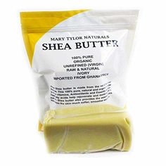 Unrefined Raw Organic Ivory Shea Butter By Mary Tylor Naturals 1 Lb (16 Oz) Grade A Mary Tylor Naturals