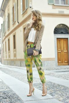 Scent of Obsession fashion blogger - daily style, travels and style tips : JUNGLE PRINT - OUTFIT