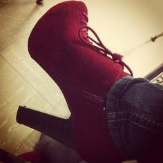 shoes. red. heels. boots.