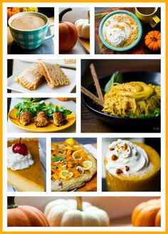 11 Recipes for your Pumpkin Cravings ~ perfect for FALL! Pumpkin Recipes, Fall Recipes, Sweet Recipes, Holiday Recipes, Holiday Meals, Vegan Recipes, Cant Stop Eating, Dessert Salads, Pumpkin Spice