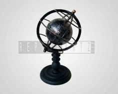 Gyroscope Globe Made of Iron
