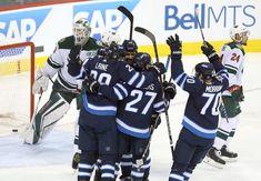 Dustin Byfuglien Paul Stastny Joe Morrow Nikolaj Ehlers Patrik Laine Winnipeg Jets Jets stanley cup playoffs Hockey NHL NHL Playoffs imperial-waterboy.tumblr.com