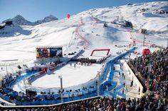 Ski-WM St.Moritz 2017 Siegerehrung im Zielraum Ski Wm, St Moritz, Mount Everest, Mountains, Nature, Travel, Goal, Naturaleza, Viajes
