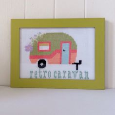 See my Retro Caravan and more designs at my website  www.moderneclectichomestyle.com