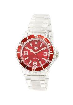 http://monetprintsgallery.com/fancy-face-womens-ff0298re-red-sport-bezel-clear-plastic-watch-p-16990.html