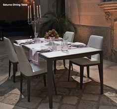 Saturno Dining from Claudio Bellini for Natuzzi