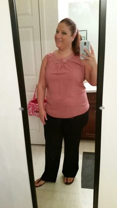 5.6.15, Ann Taylor top and pants