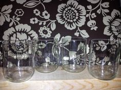Repurposed Modelo Beer Bottles into Wine Tumblers by DirtHouse, $15.00