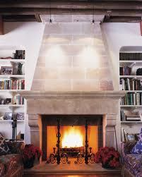 Tapered fireplace idea. could tile over with really large tiles