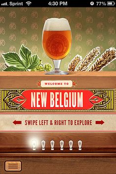 """BEER MODE BY NEW BELGIUM  Put down your phone, pick up a pint and your friends are none the wiser. Beer Mode is an """"anti-app"""" app that automatically posts preselected messages to your social networks while you go offline to enjoy a beer.  Designed by Steve Dolan"""