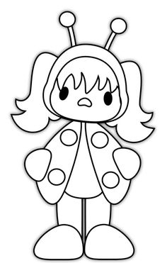 Ladybug Girl Coloring Pages