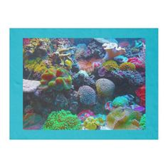 Gorgeous Coral Reef Fleece Blanket