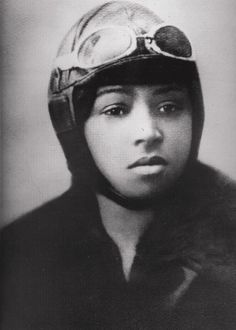 Bessie Coleman was the first African American female pilot; women's history, black women from history, african american women in history, female firsts Harlem Renaissance, Bessie Coleman, Kings & Queens, Female Pilot, Portraits, We Are The World, Black History Month, Before Us, African American History