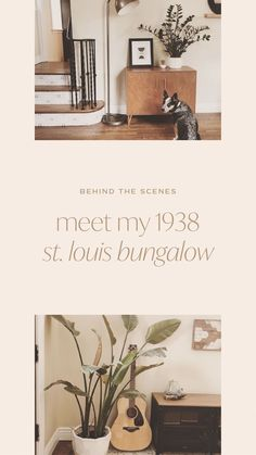 lindscholz on Instagram: It's my first reel! ...did I do this thing right? Since we've all been staying home more this year, I thought I'd start with a quick tour… I Love You Baby, Minimalist Home Decor, Bungalow, Mid-century Modern, Inspiration, Biblical Inspiration, Bungalows, Motivation