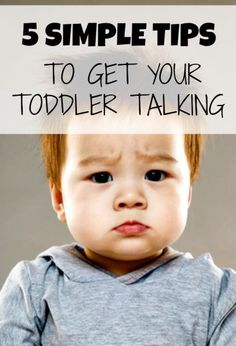 Five tricks to get your baby to start talking, but prepared - once they start, there's no going back!