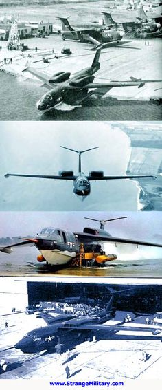 MARTIN P6M SEAMASTER - JET POWERED SEAPLANE BOMBER