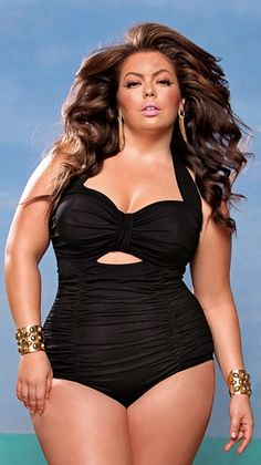 Love this swimsuit.. plus size and actually CUTE