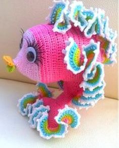 Patterns Kid Amigurumi Crochet Fish Pattern Crochet Patterns Only Patterncrochet dolls designs Looking for your next project? You're going to love Crochet Gold Pink amigurumi Fish Pattern by designer Babycrochetcraftsy. Crochet Amigurumi, Amigurumi Patterns, Crochet Dolls, Knitting Patterns, Crochet Patterns, Love Crochet, Crochet For Kids, Knit Crochet, Ravelry Crochet