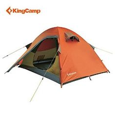 KingCamp™ Seine 100% Waterproof 10000mm, Durable Tear Resistant Windproof O Shape Inner Door, 2-Person Tent for Trekking and Hiking