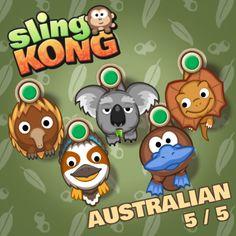 Australian 5/5! #SlingKong http://onelink.to/slingkong